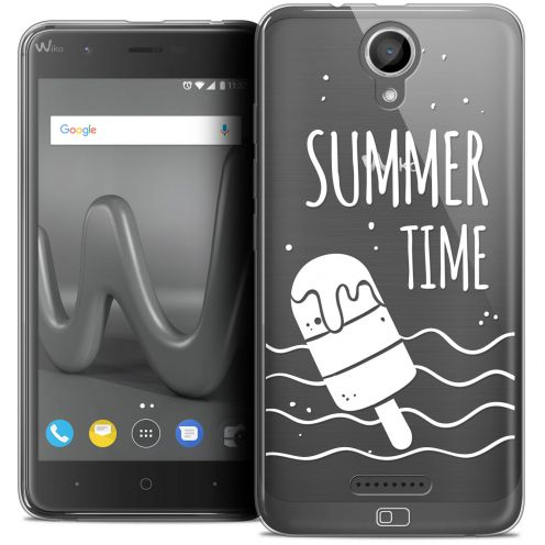 "Coque Crystal Gel Wiko Harry (5"") Extra Fine Summer - Summer Time"