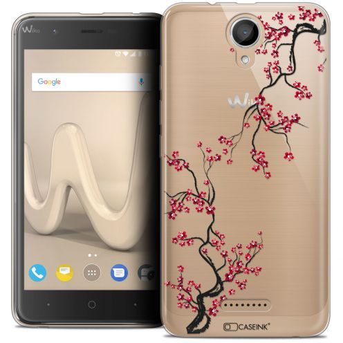 "Coque Crystal Gel Wiko Harry (5"") Extra Fine Summer - Sakura"
