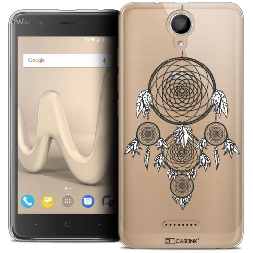 "Coque Crystal Gel Wiko Harry (5"") Extra Fine Dreamy - Attrape Rêves NB"