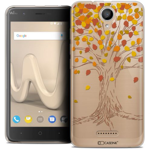"Coque Crystal Gel Wiko Harry (5"") Extra Fine Autumn 16 - Tree"