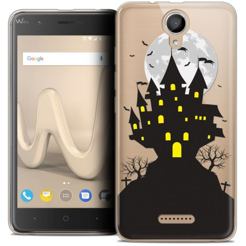 "Coque Crystal Gel Wiko Harry (5"") Extra Fine Halloween - Castle Scream"