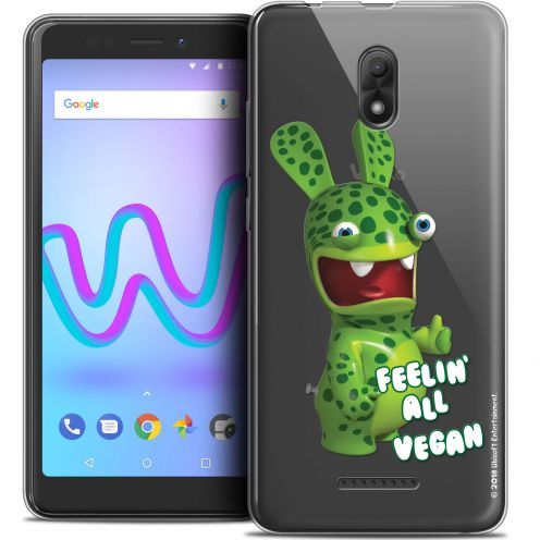 "Coque Gel Wiko Jerry 3 (5.45"") Extra Fine Lapins Crétins™ - Vegan"