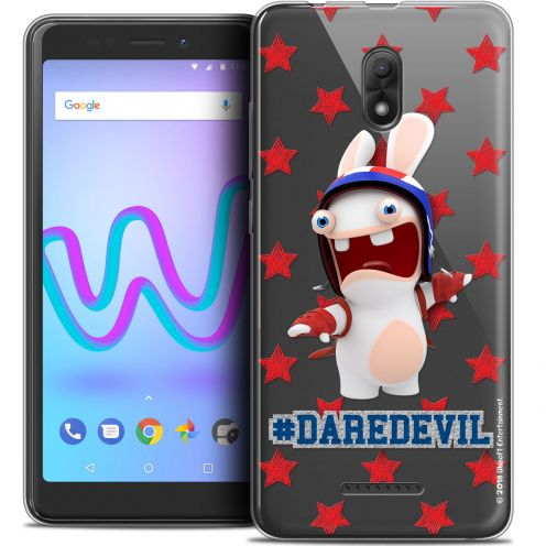 "Coque Gel Wiko Jerry 3 (5.45"") Extra Fine Lapins Crétins™ - Dare Devil"