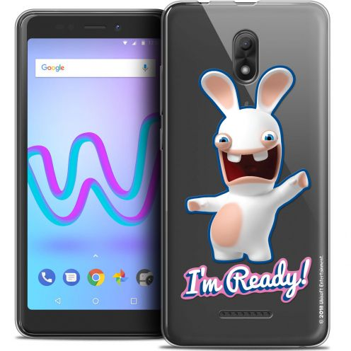 "Coque Gel Wiko Jerry 3 (5.45"") Extra Fine Lapins Crétins™ - I'm Ready !"