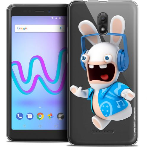 "Coque Gel Wiko Jerry 3 (5.45"") Extra Fine Lapins Crétins™ - Techno Lapin"