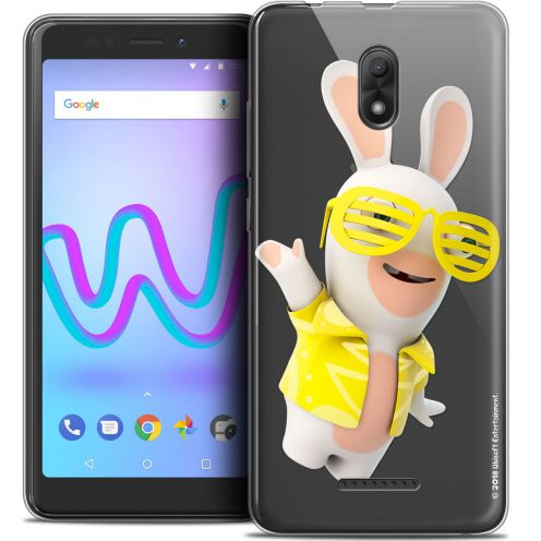 "Coque Gel Wiko Jerry 3 (5.45"") Extra Fine Lapins Crétins™ - Sun Glassss!"