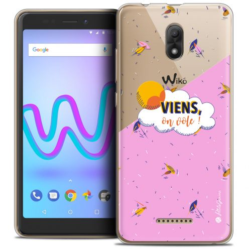 "Coque Gel Wiko Jerry 3 (5.45"") Extra Fine Petits Grains® - VIENS, On Vole !"