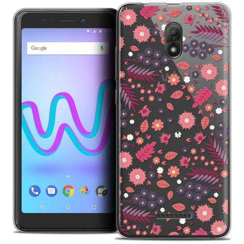 "Coque Crystal Gel Wiko Jerry 3 (5.45"") Extra Fine Spring - Printemps"