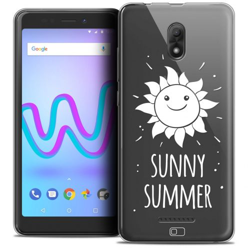 "Coque Crystal Gel Wiko Jerry 3 (5.45"") Extra Fine Summer - Sunny Summer"