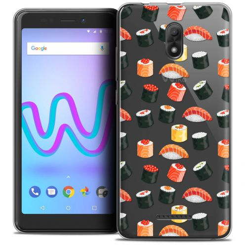 """Coque Crystal Gel Wiko Jerry 3 (5.45"""") Extra Fine Foodie - Sushi"""
