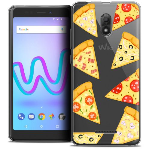 """Coque Crystal Gel Wiko Jerry 3 (5.45"""") Extra Fine Foodie - Pizza"""
