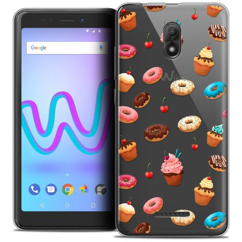 """Coque Crystal Gel Wiko Jerry 3 (5.45"""") Extra Fine Foodie - Donuts"""
