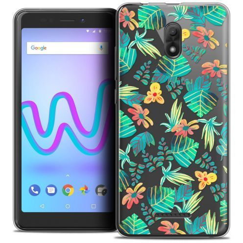 """Coque Crystal Gel Wiko Jerry 3 (5.45"""") Extra Fine Spring - Tropical"""