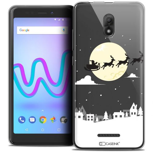 """Coque Crystal Gel Wiko Jerry 3 (5.45"""") Extra Fine Noël 2017 - Flying Stanta"""