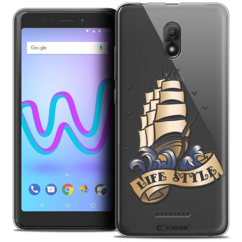 """Coque Crystal Gel Wiko Jerry 3 (5.45"""") Extra Fine Tatoo Lover - Life Style"""