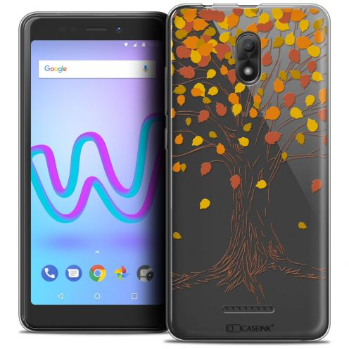 """Coque Crystal Gel Wiko Jerry 3 (5.45"""") Extra Fine Autumn 16 - Tree"""