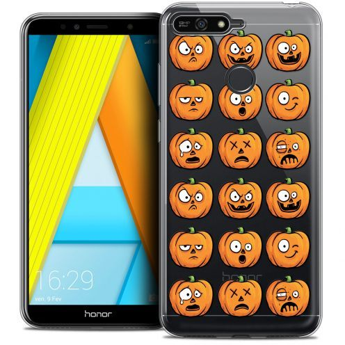 "Coque Crystal Gel Honor 7A (5.7"") Extra Fine Halloween - Cartoon Citrouille"