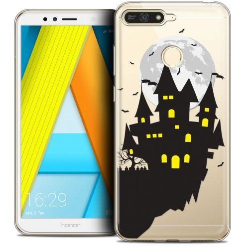"Coque Crystal Gel Honor 7A (5.7"") Extra Fine Halloween - Castle Dream"