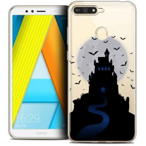 "Coque Crystal Gel Honor 7A (5.7"") Extra Fine Halloween - Castle Nightmare"