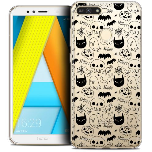 "Coque Crystal Gel Honor 7A (5.7"") Extra Fine Halloween - Spooky"