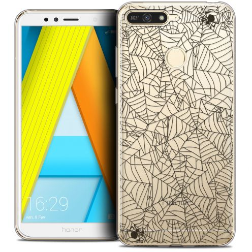"Coque Crystal Gel Honor 7A (5.7"") Extra Fine Halloween - Spooky Spider"