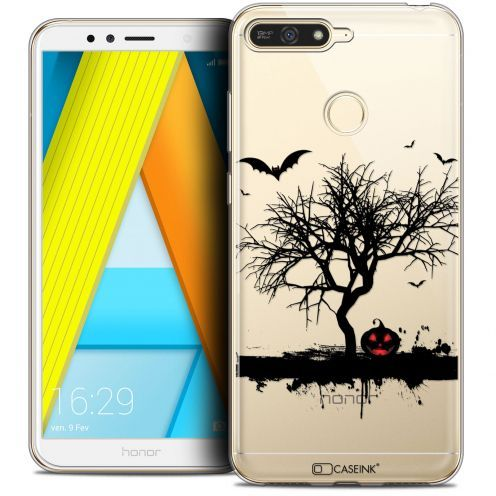 "Coque Crystal Gel Honor 7A (5.7"") Extra Fine Halloween - Devil's Tree"