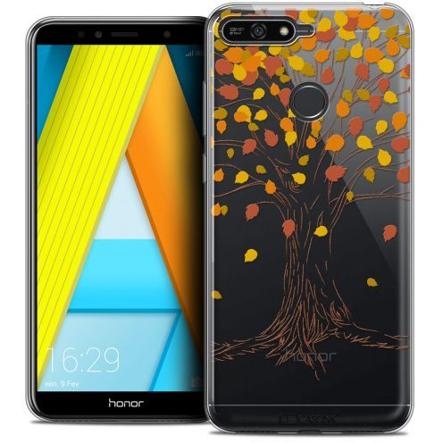 "Coque Crystal Gel Honor 7A (5.7"") Extra Fine Autumn 16 - Tree"