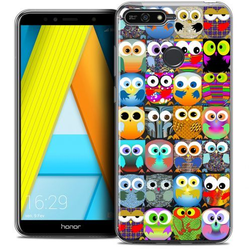 "Coque Crystal Gel Honor 7A (5.7"") Extra Fine Claude - Hibous"