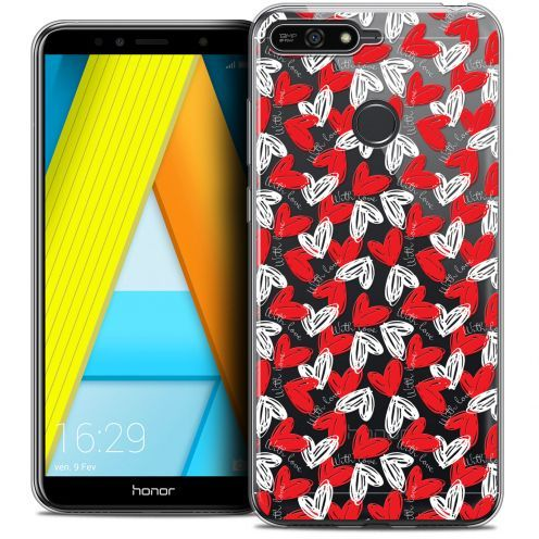 """Coque Crystal Gel Honor 7A (5.7"""") Extra Fine Love - With Love"""
