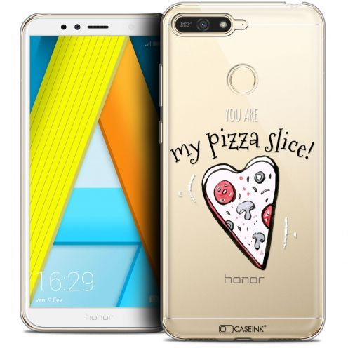 """Coque Crystal Gel Honor 7A (5.7"""") Extra Fine Love - My Pizza Slice"""