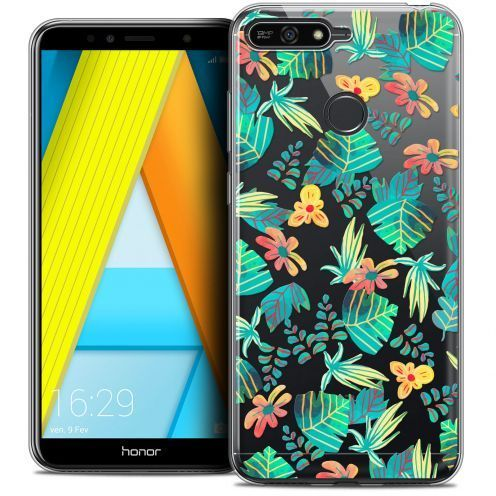 "Coque Crystal Gel Honor 7A (5.7"") Extra Fine Spring - Tropical"