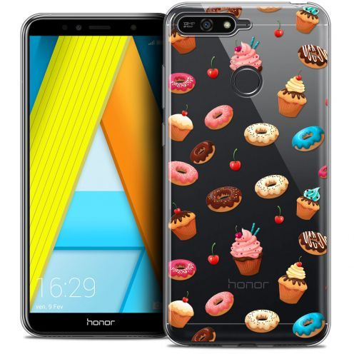 "Coque Crystal Gel Honor 7A (5.7"") Extra Fine Foodie - Donuts"