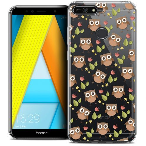 "Coque Crystal Gel Honor 7A (5.7"") Extra Fine Summer - Hibou"