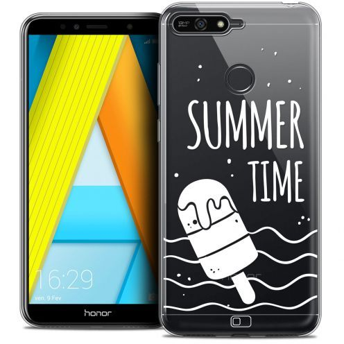 "Coque Crystal Gel Honor 7A (5.7"") Extra Fine Summer - Summer Time"