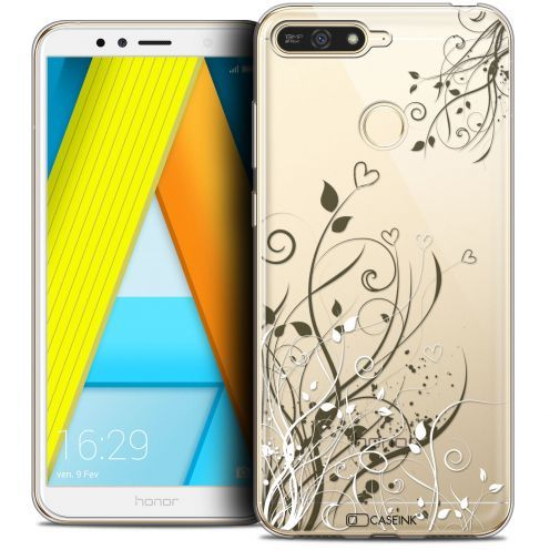 "Coque Crystal Gel Honor 7A (5.7"") Extra Fine Summer - Love Flowers"