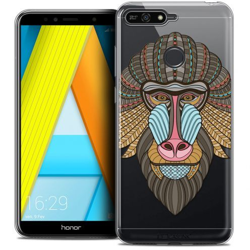 "Coque Crystal Gel Honor 7A (5.7"") Extra Fine Summer - Babouin"