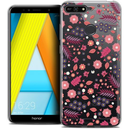 "Coque Crystal Gel Honor 7A (5.7"") Extra Fine Spring - Printemps"