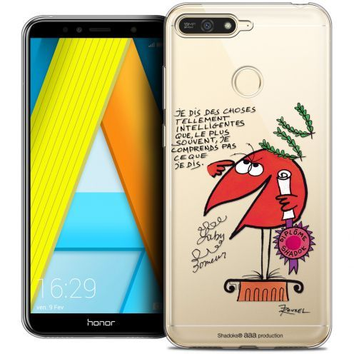 """Coque Gel Honor 7A (5.7"""") Extra Fine Les Shadoks® - Intelligent"""