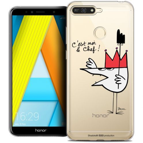 """Coque Gel Honor 7A (5.7"""") Extra Fine Les Shadoks® - Le Chef"""