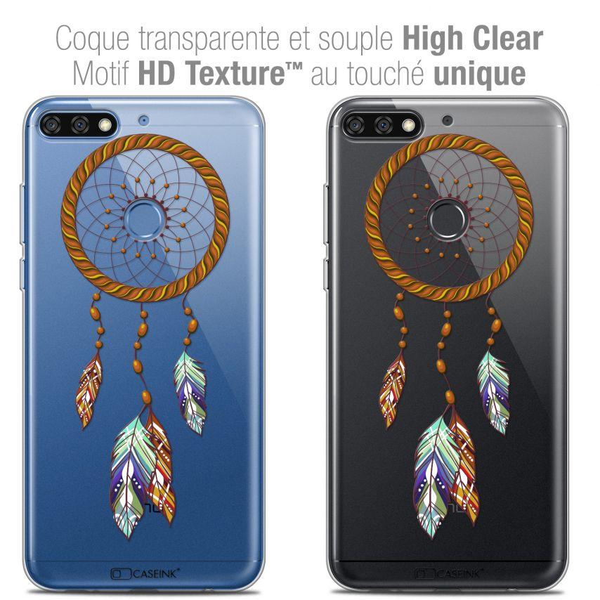 "Coque Crystal Gel Honor 7C (5.99"") Extra Fine Dreamy - Attrape Rêves Shine"