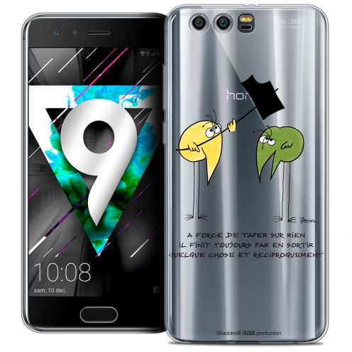 """Coque Gel Huawei Honor 9 (5.15"""") Extra Fine Les Shadoks® - A Force"""