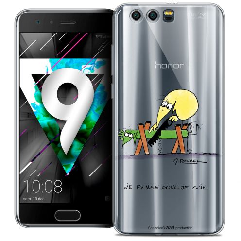 """Coque Gel Huawei Honor 9 (5.15"""") Extra Fine Les Shadoks® - Je pense Donc"""