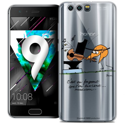 """Coque Gel Huawei Honor 9 (5.15"""") Extra Fine Les Shadoks® - Musicien"""