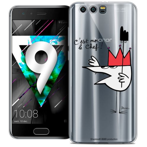 """Coque Gel Huawei Honor 9 (5.15"""") Extra Fine Les Shadoks® - Le Chef"""