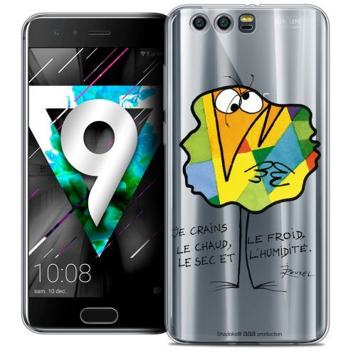 """Coque Gel Huawei Honor 9 (5.15"""") Extra Fine Les Shadoks® - Chaud ou Froid"""