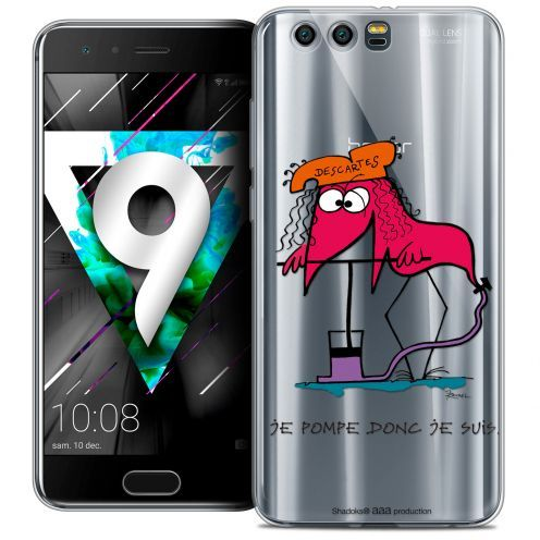 """Coque Gel Huawei Honor 9 (5.15"""") Extra Fine Les Shadoks® - Donc Je Suis"""