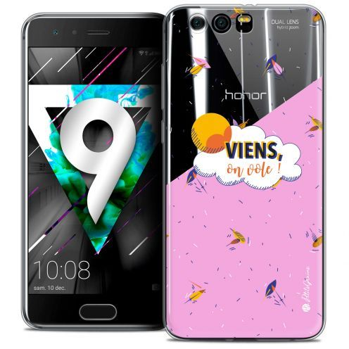 """Coque Gel Huawei Honor 9 (5.15"""") Extra Fine Petits Grains® - VIENS, On Vole !"""