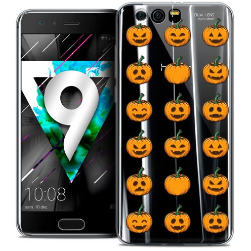 """Coque Crystal Gel Huawei Honor 9 (5.15"""") Extra Fine Halloween - Smiley Citrouille"""