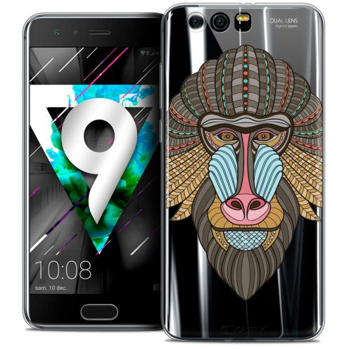 """Coque Crystal Gel Huawei Honor 9 (5.15"""") Extra Fine Summer - Babouin"""