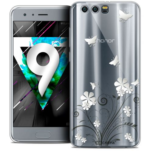 """Coque Crystal Gel Huawei Honor 9 (5.15"""") Extra Fine Summer - Papillons"""